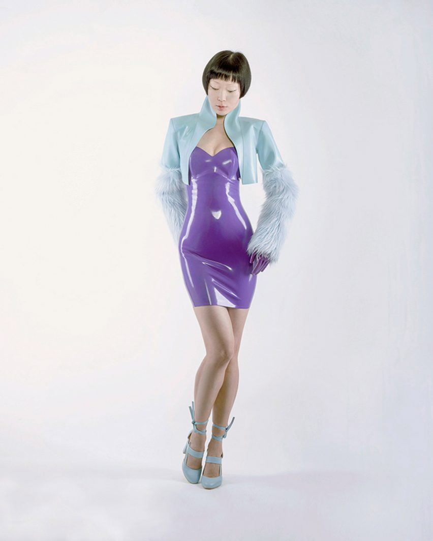 Operio latex clothing collection by Dead Lotus Couture