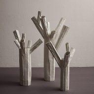 Bosco paper clay ceramics by Paola Paronetto