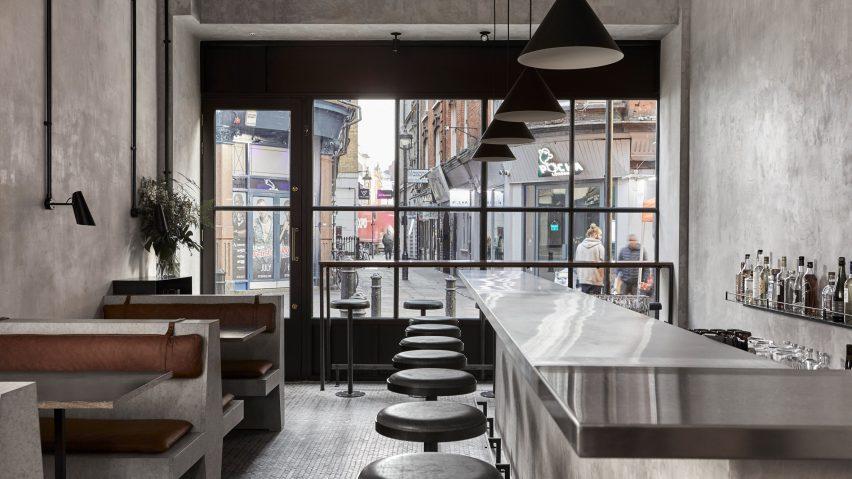 London S Paradise Restaurant Nods To Sri Lanka S Brutalist Buildings