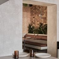 Interiors of London's Paradise restaurant nods to Sri Lanka's brutalist buildings