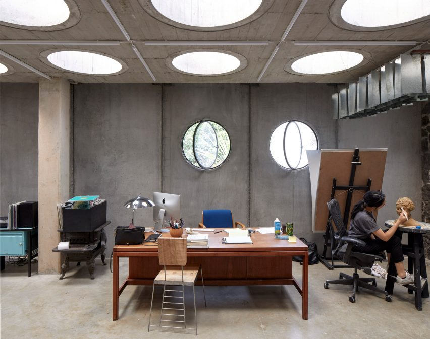 Pedro Reyes studio in Mexico City