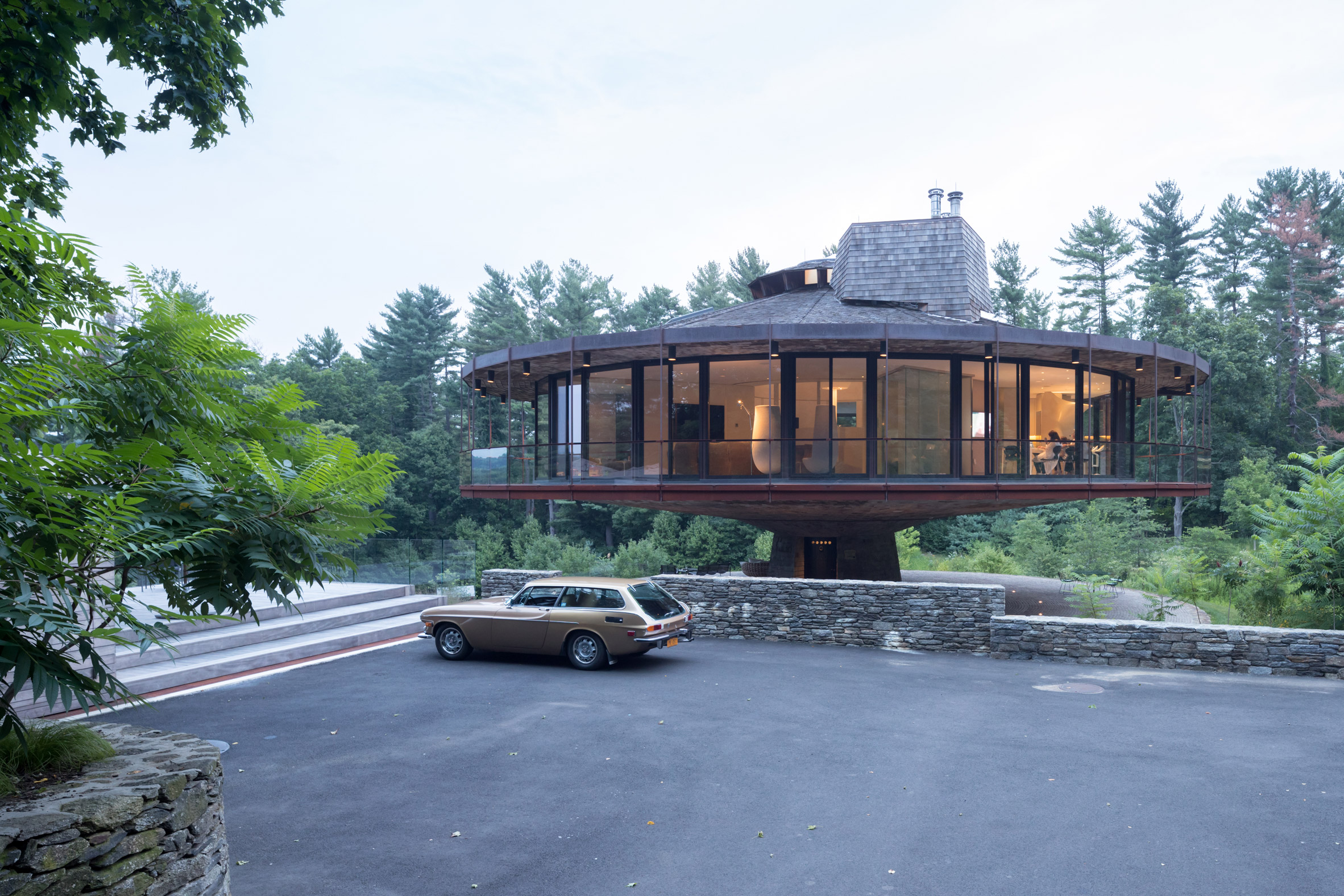 Round House renovation by Mack Scogin Merrill Elam