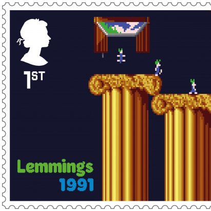 Royal Mail stamp collection pays homage to seminal British video games