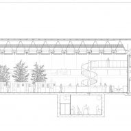 Sainsbury Centre by Foster Associates