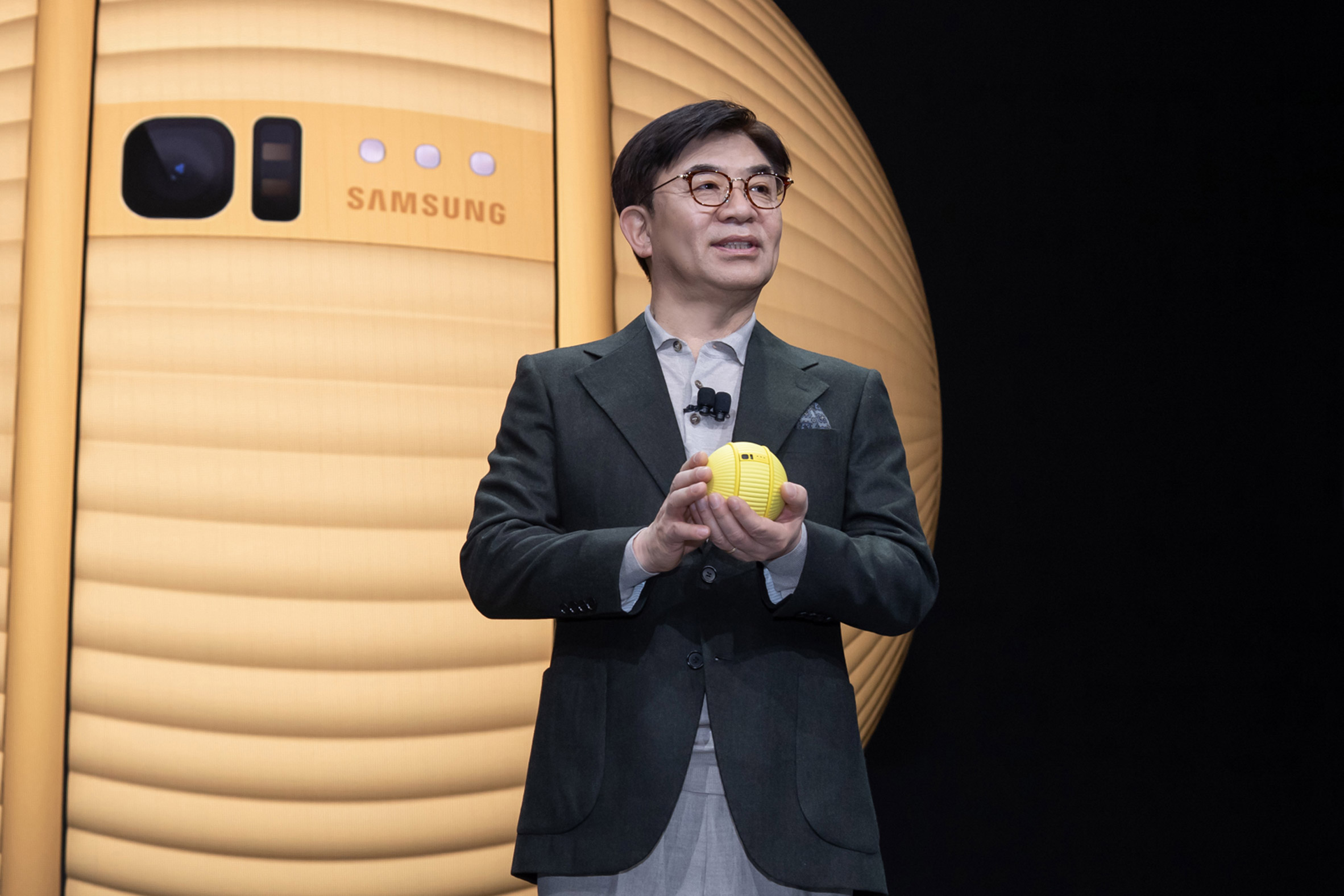Ballie the rolling robot is Samsung's near-future vision of personal care