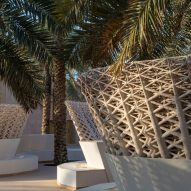 Chris Precht and Arthur Mamou-Mani use sand to 3D print pavilion in Saudi Arabia