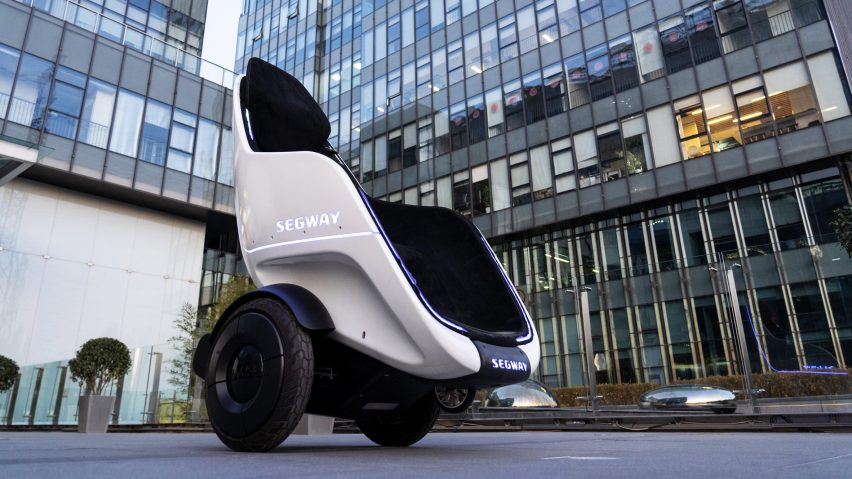 Segway introduces armchair-like S-Pod vehicle for seated riding
