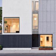 Semi Semi by COMN Architects comprises two matching homes on a lot in Toronto