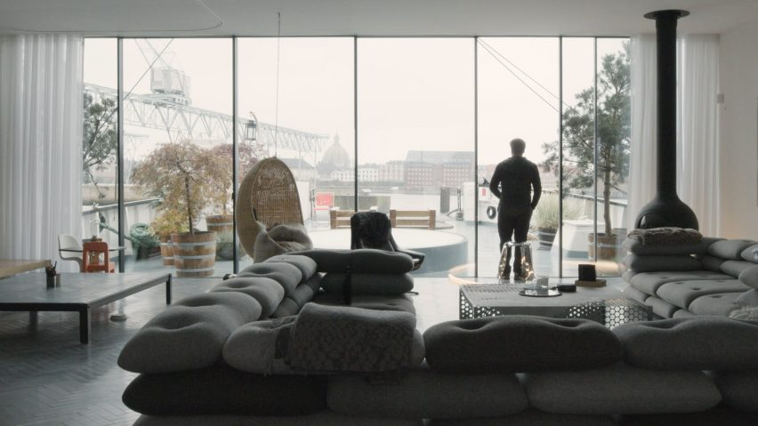 Dezeen promotion: Sky Frame interview with Bjarke Ingles