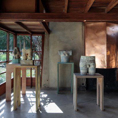 Soft Schindler exhibit at The Schindler House by Mimi Zeiger