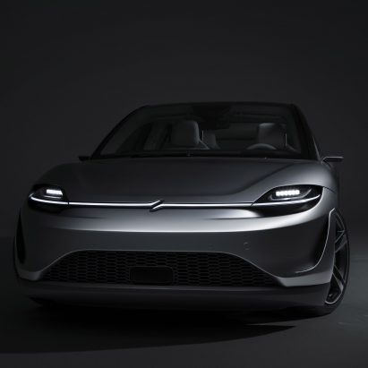 Sony reveals Vision-S electric car concept at CES 2020