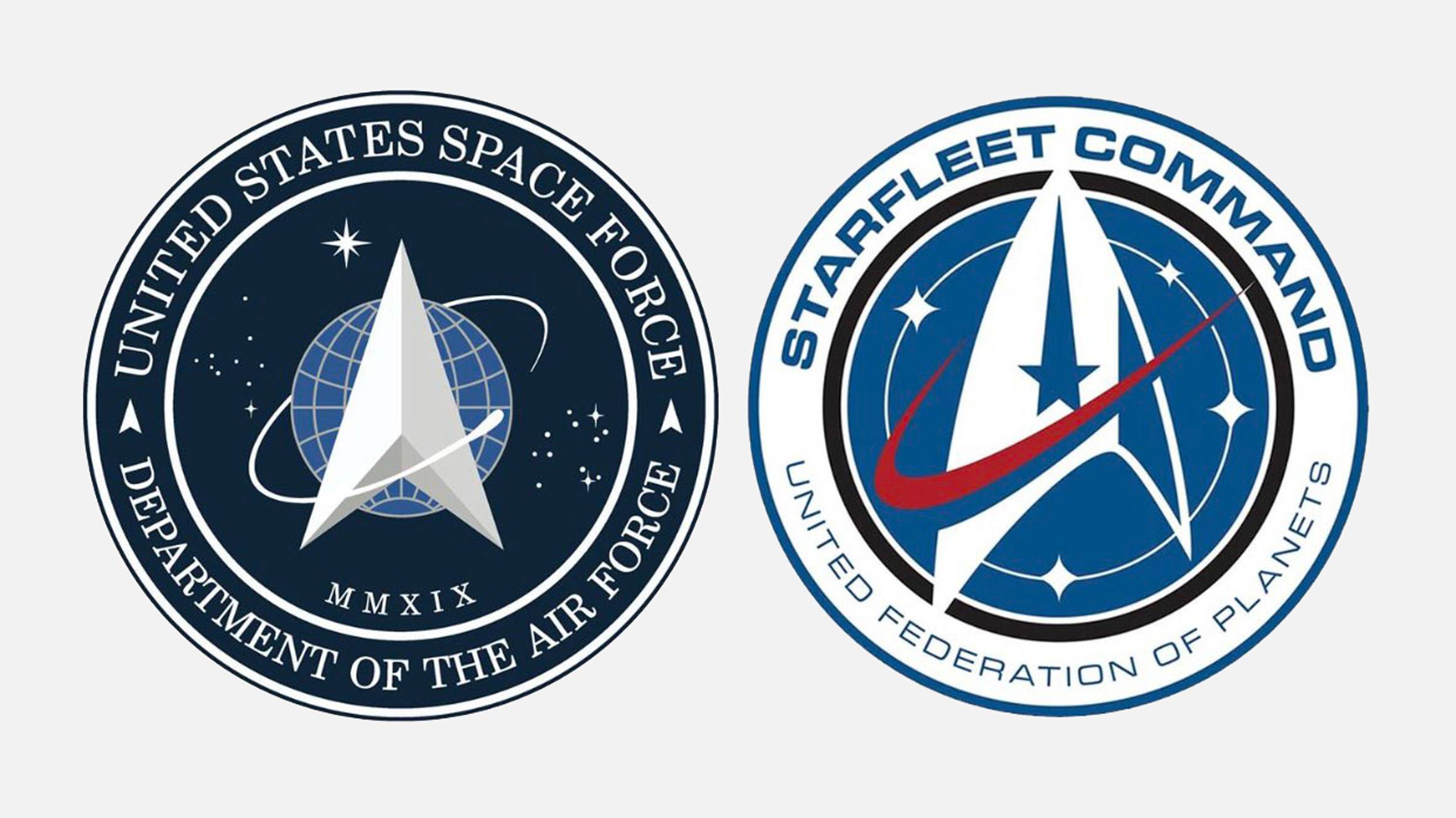 Image of article 'Trump unveils divisive logo for new Space Force military branch'
