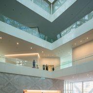 Tainan Art Museum by Shigeru Ban in Tainan, Taiwan