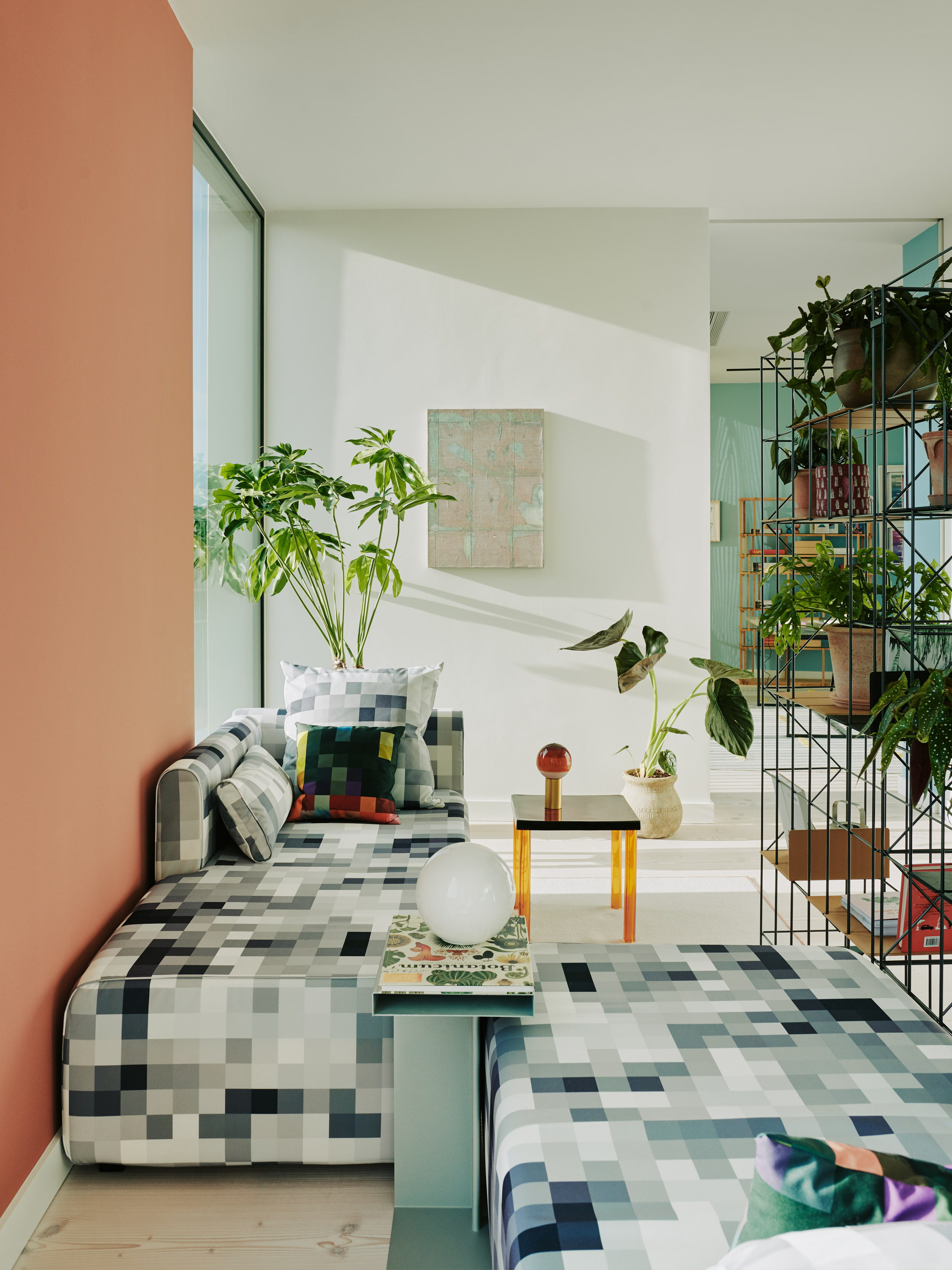 Apartment in London's Television Centre, designed by Waldo Works