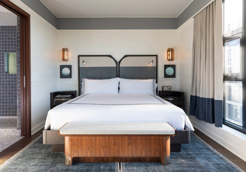 Thompson Washington DC hotel by Parts and Labor