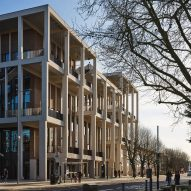 Grafton Architects completes colonnaded Town House at Kingston University