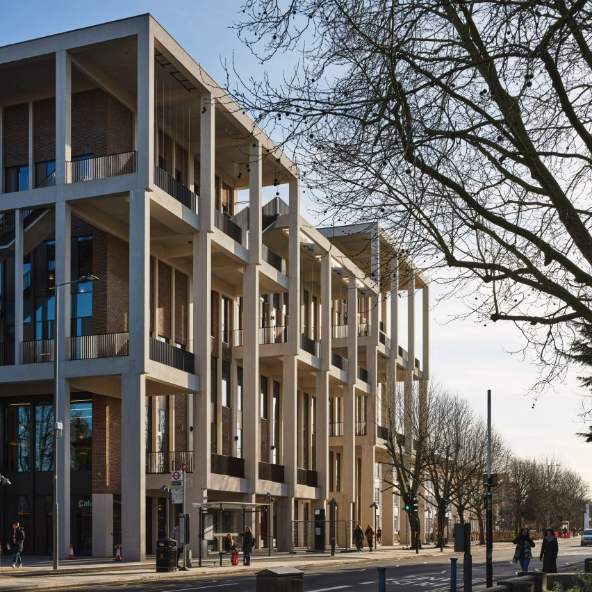 Top 10 British architecture projects of 2020: Town House by Grafton Architects for Kingston University, UK