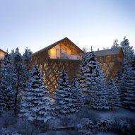 Explore winter retreats on this week's Pinterest board