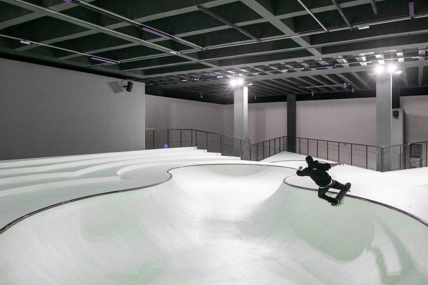 OooOoO skatepark by Koo Jeong A at Triennale Milano