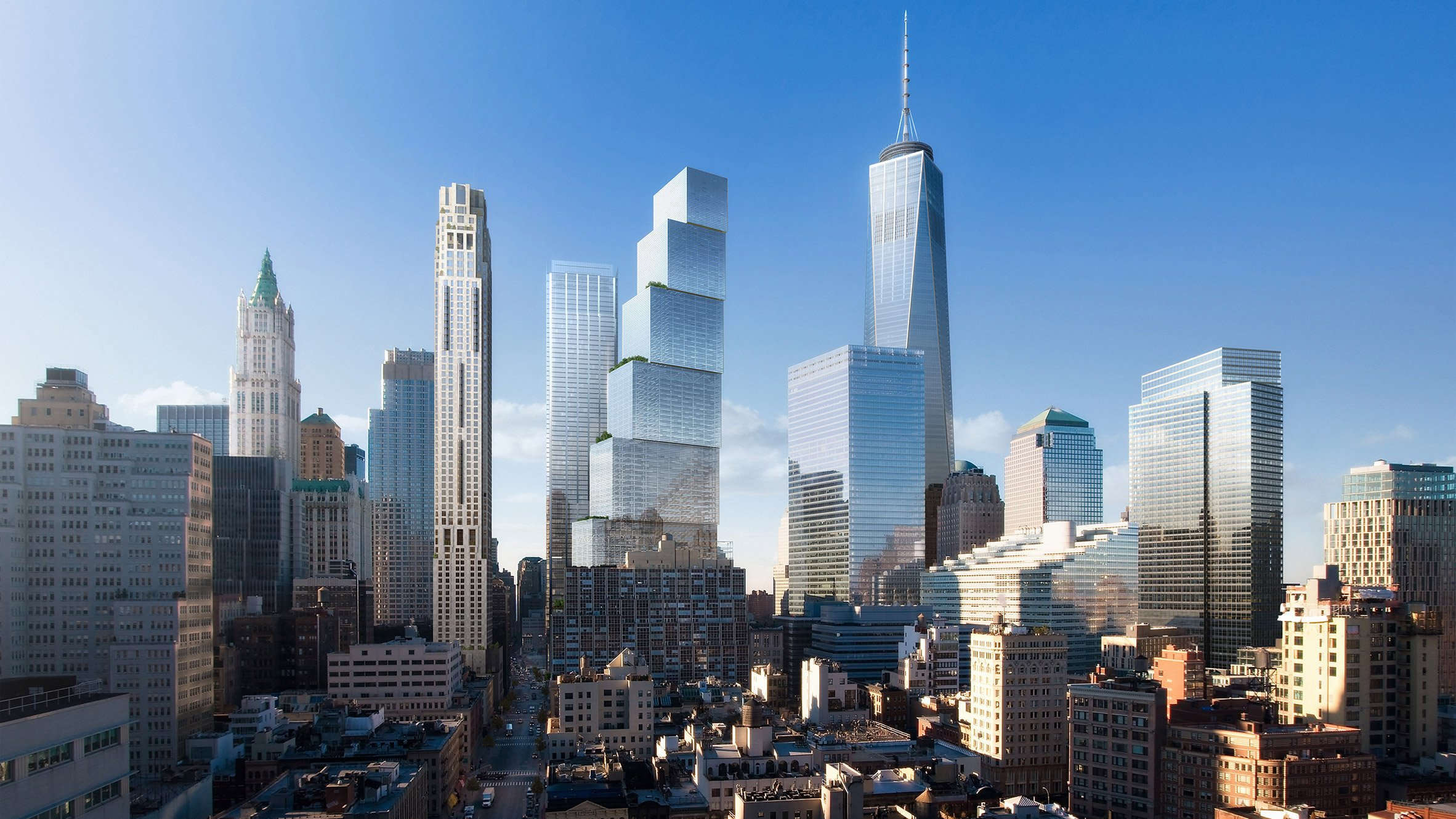 Big S Two World Trade Center Nixed For Foster Partners Design