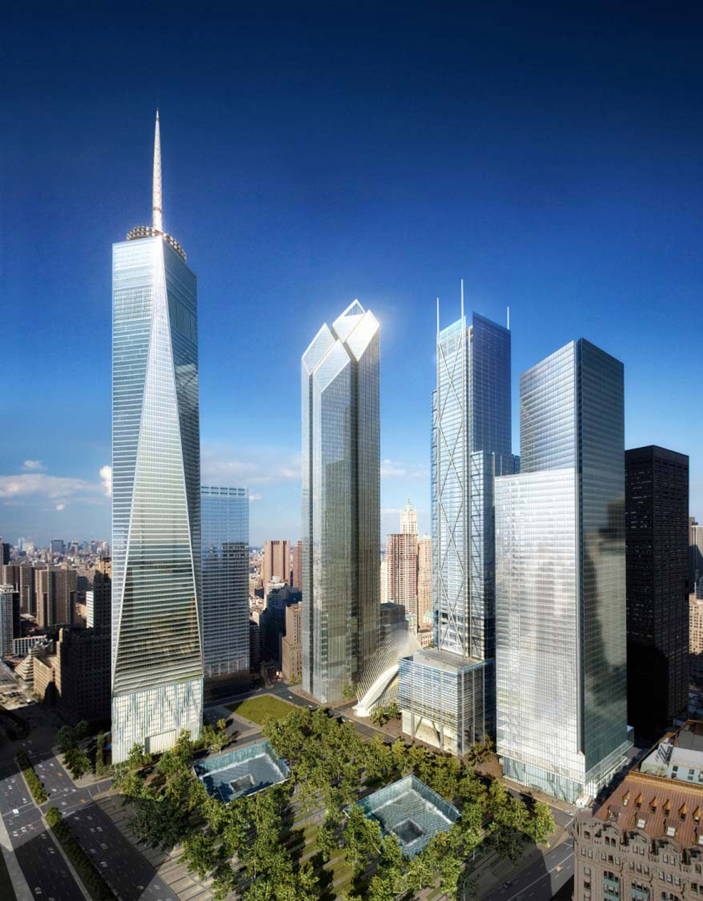 Two World Trade Center by Foster + Partners