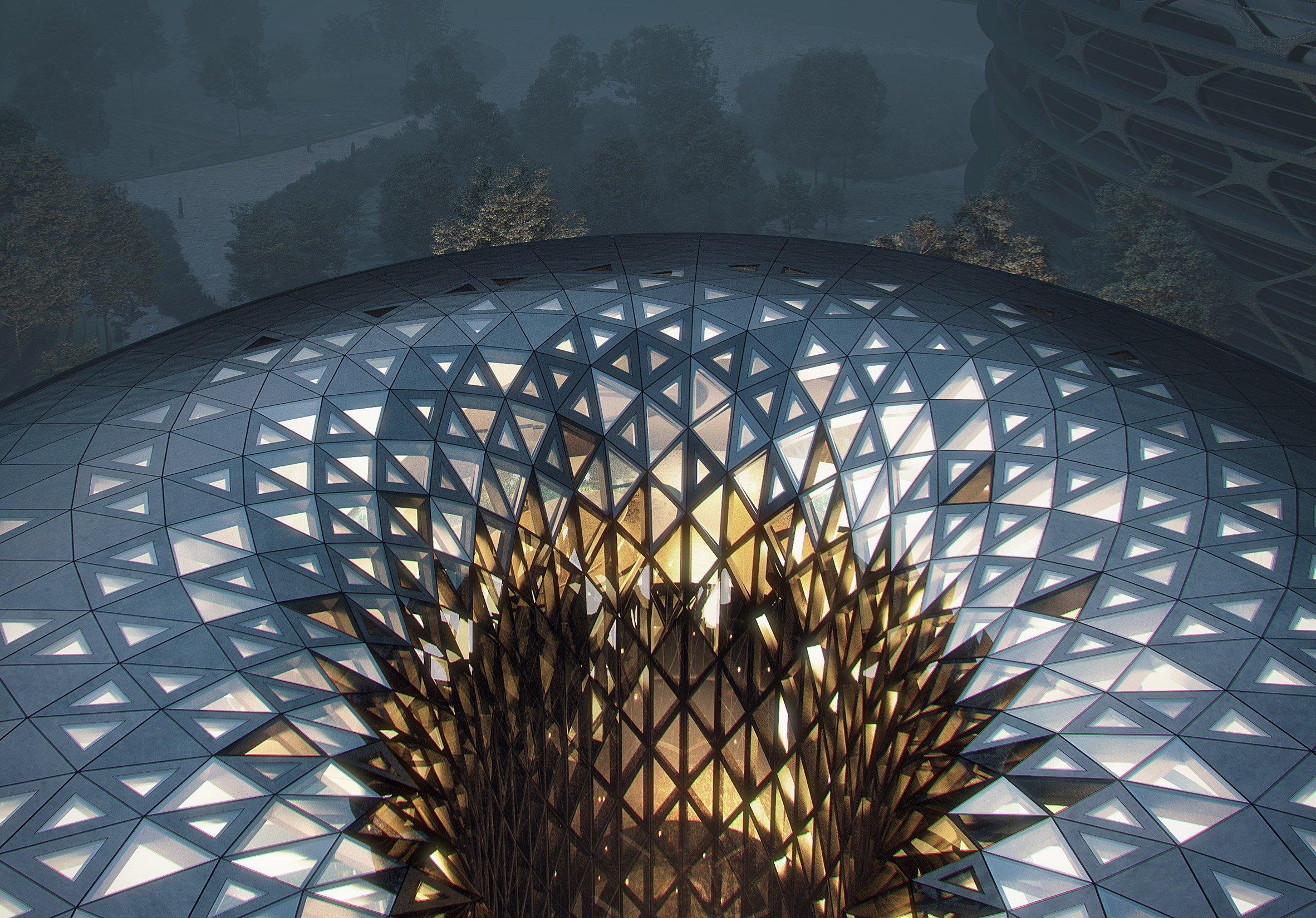 Unicorn Island masterplan by Zaha Hadid Architects
