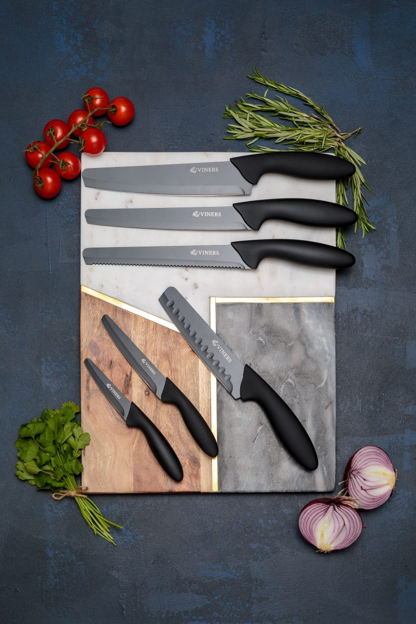 Viners makes knives with rounded tips in response to knife crime