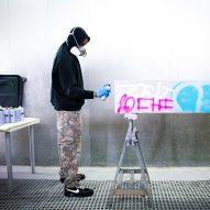 Virgil Abloh channels brutalism for concrete Efflorescence furniture series