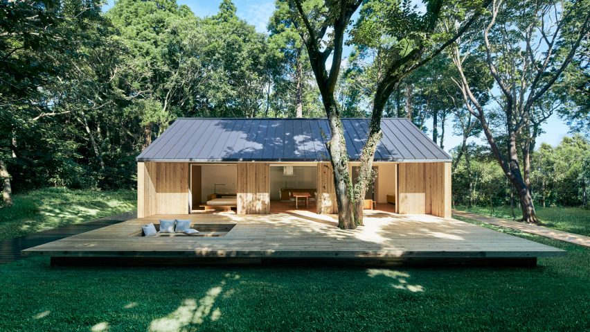 Muji launches prefabricated home to encourage indoor-outdoor living