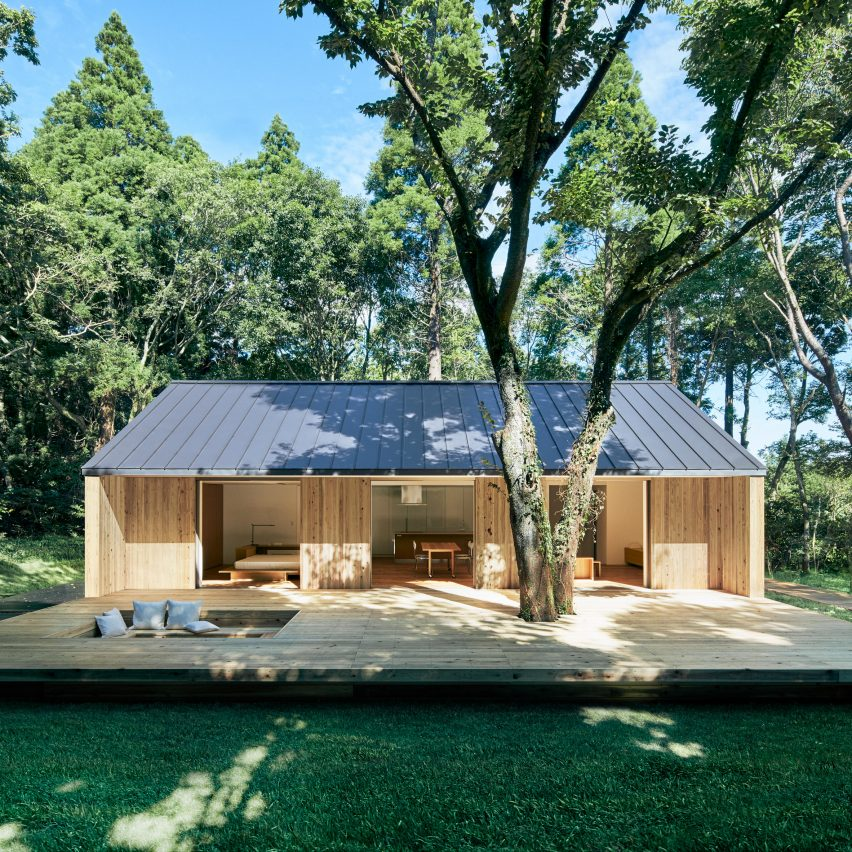 Prefabricated Yō no le home by Muji