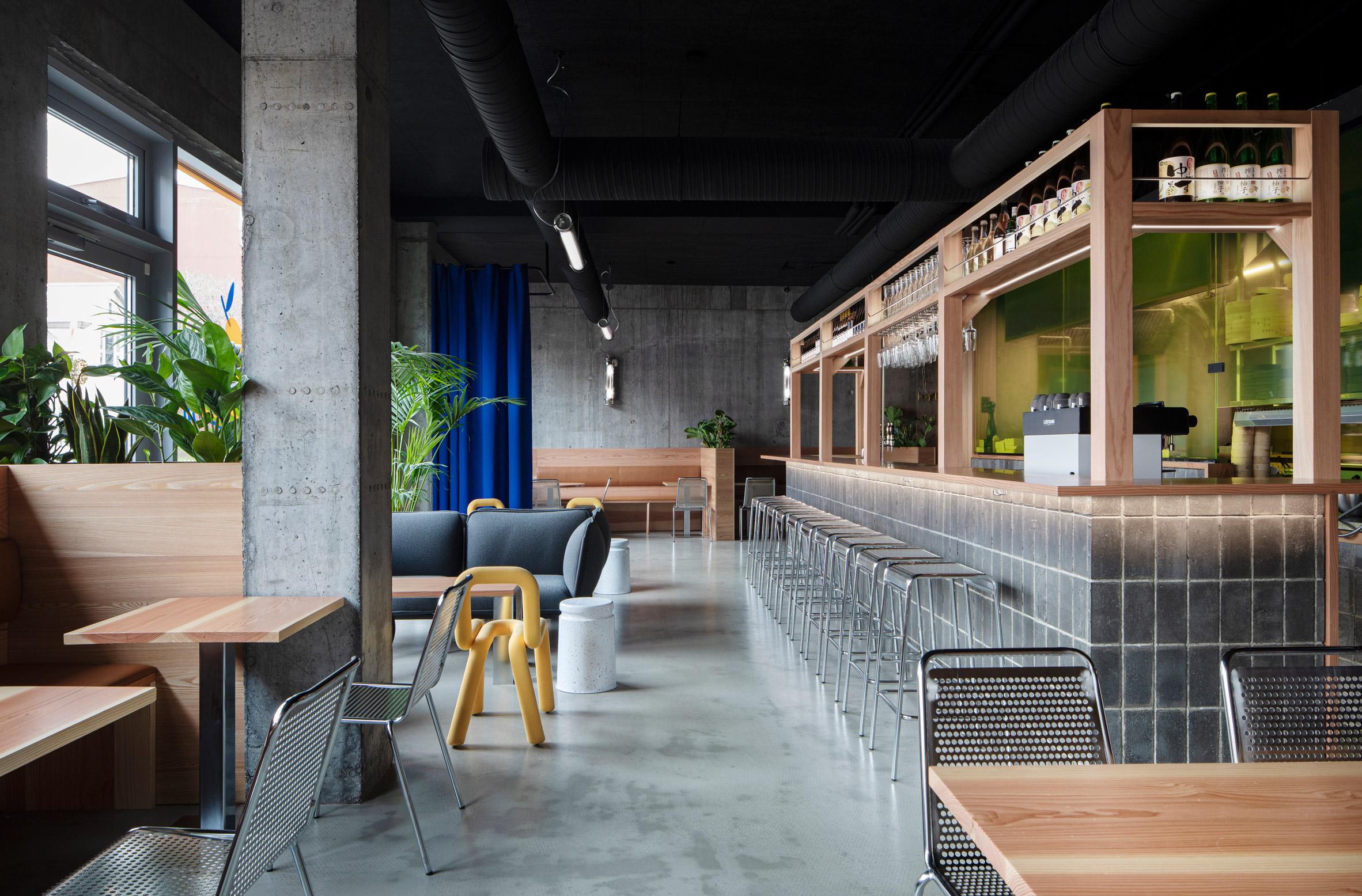 Haf Studio Designs Interiors Of Reykjavik Burger Restaurant Yuzu