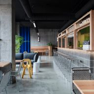 Nordic and Japanese aesthetics combine in Reykjavík burger joint