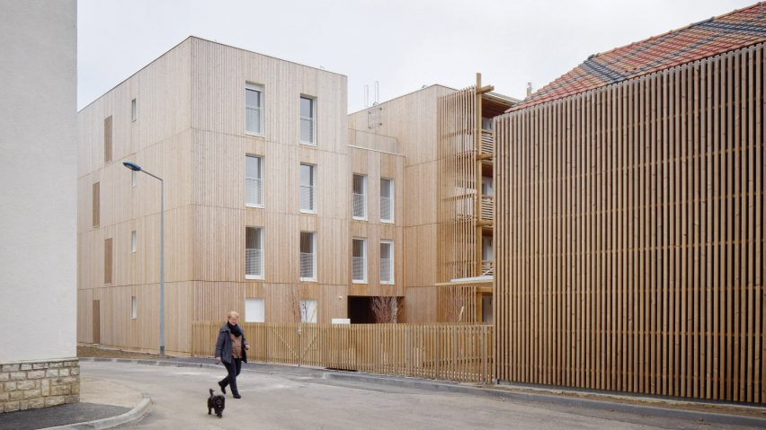 Odile Guzy Architectes' social housing scheme in Chalon-sur-Saône, France