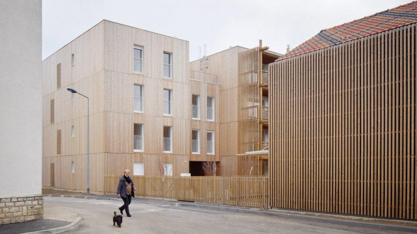 Odile Guzy Architectes' social housing scheme in Chalon-sur-Saône, France