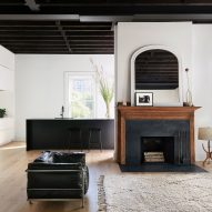 Arnold Studio modernises 19th-century Brooklyn house with black and white