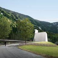 Herzog & de Meuron designs motorway chapel in Switzerland