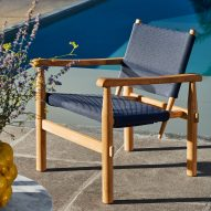 """Cassina unveils outdoor furniture designed as """"an extension of the home"""""""