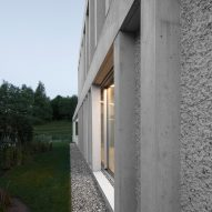 Concrete Villa Comano by DF-DC