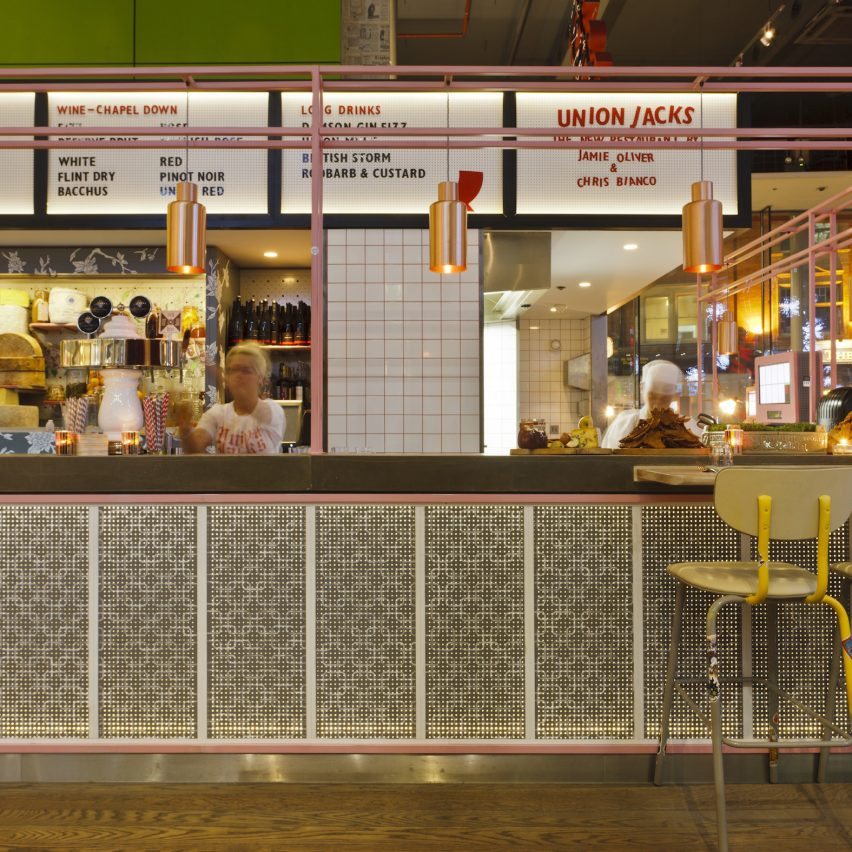 Top interior roles: Mid-weight interior designer at Jamie Oliver Restaurant Group in London, UK