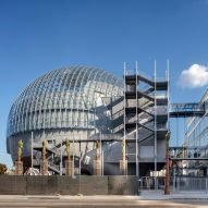 Renzo Piano's Academy Museum of Motion Pictures nears completion in Los Angeles