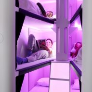 Air New Zealand developing bunk bed-style sleeping pod for economy flyers
