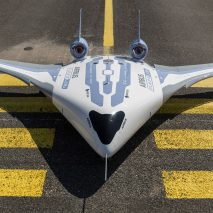 Airbus unveils fuel-saving Maveric aircraft model with blended wing body