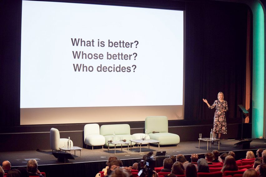 Watch the video of Alexandra Daisy Ginsberg's keynote lecture at Dezeen Day