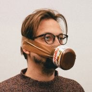 Alternative Coronavirus masks by Max Siedentopf with Nutella