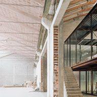 AMAA architecture studio in converted factory in Arzignano
