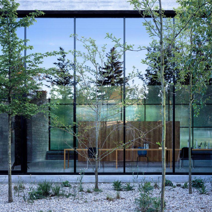 Atelier Monika Sosnowska by Architecture Club north elevation