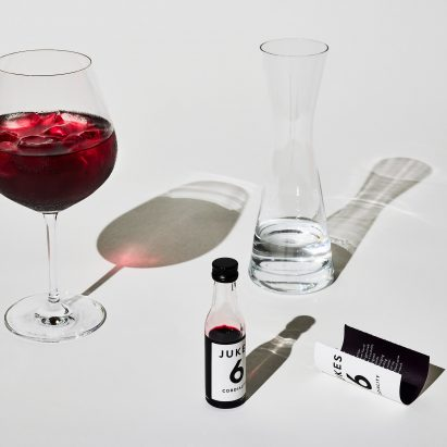 "Barber and Osgerby create packaging for ""adult cordial"" Jukes Cordialities"