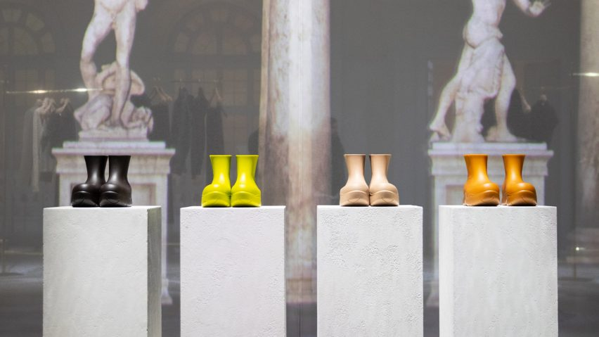Bottega Veneta unveils 100 per cent biodegradable boots