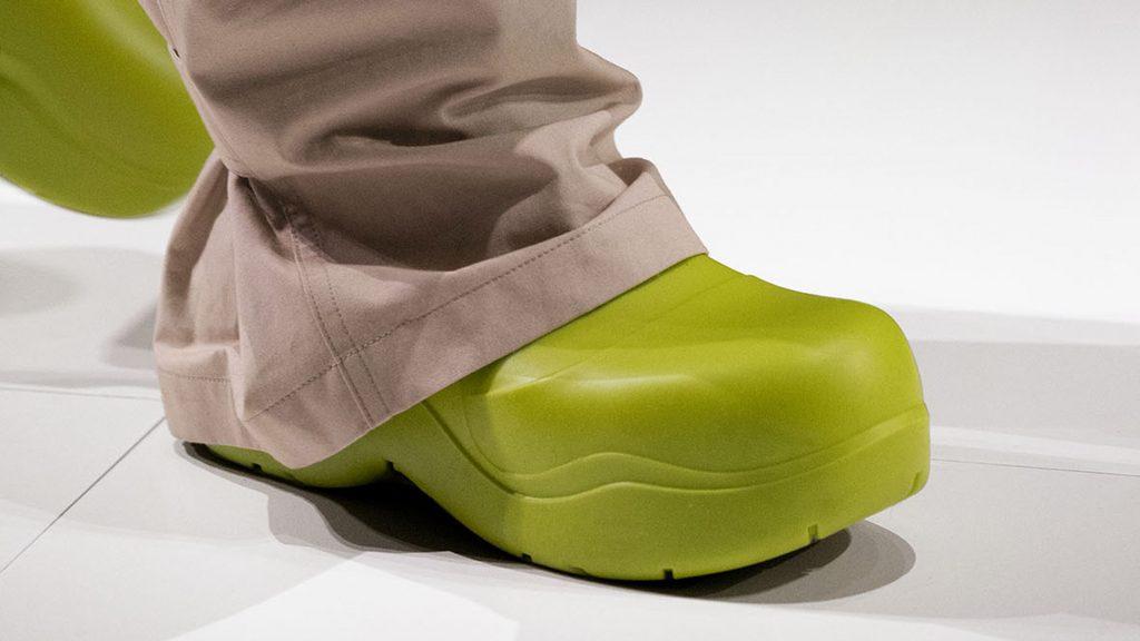 "Bottega Veneta debuts ""100 per cent biodegradable"" boot"