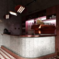 Buhairest bar, designed by Roman Plyus